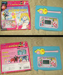 Sailor Moon R LCD game and wand