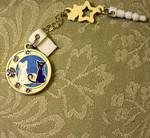 Sailor Moon Luna and Artemis Phone Charm