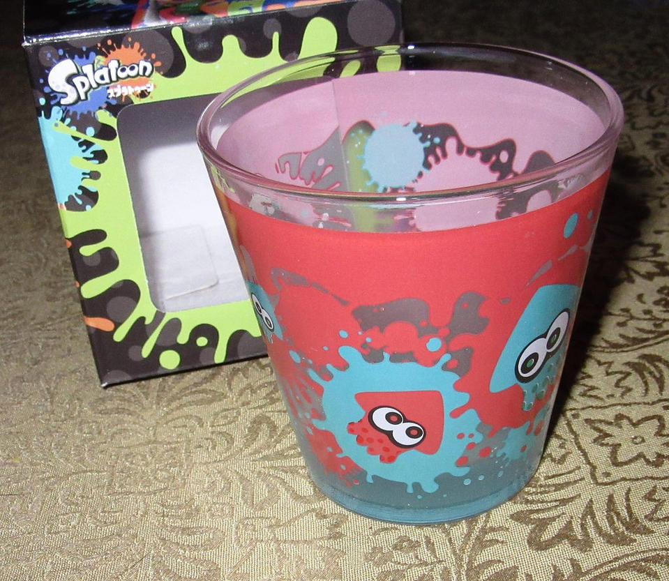 Splatoon Glass Cup by avaneshop