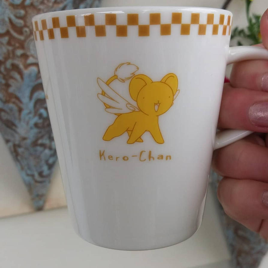 Card Captor Sakura Kero mug (front) by avaneshop