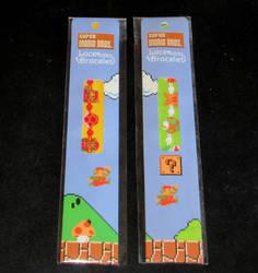 Super Mario lace bracelets by avaneshop