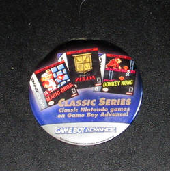 NES classic series promo button by avaneshop