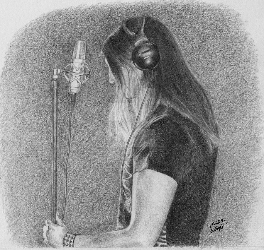 Lead Singer. by Worldinsideart
