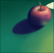 Apple by Pannecs