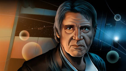 Star Wars Speed Painting - Han Solo