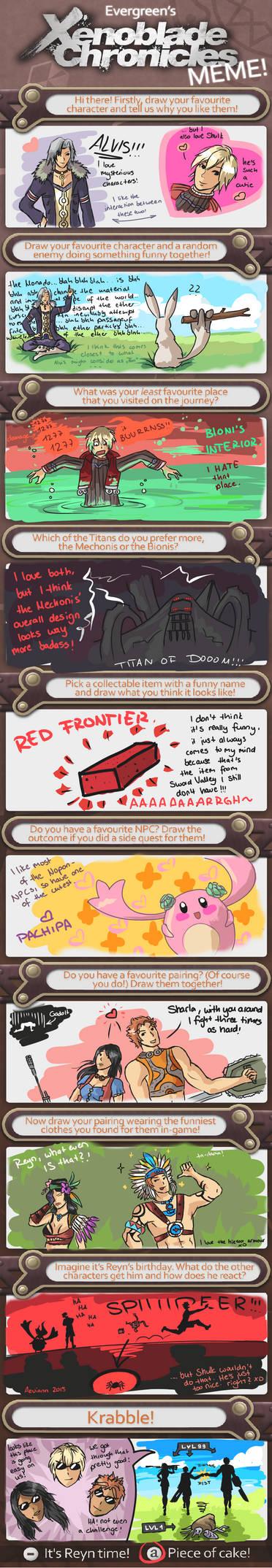 Xenoblade Chronicles Meme!