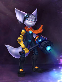 Lombax Girl - Ratchet And Clank Rift Apart