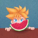 Watermelon - LenWeek2021 / Day 6 by ElectricShan