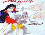 Sailor Moon VS Street Fighter???
