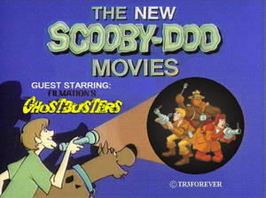 Today, Scooby Doo Meets Filmation's Ghostbusters