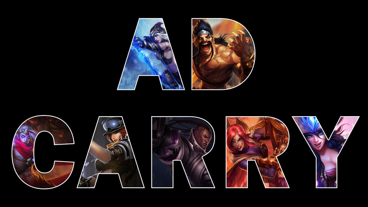 LoL AD Carry by qwertyis666 on DeviantArt