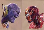 Thanos vs Ironman