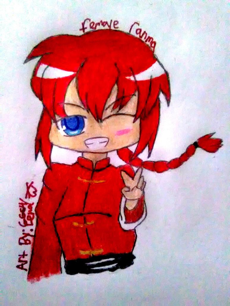 AT Female Ranma By Gengargamer64