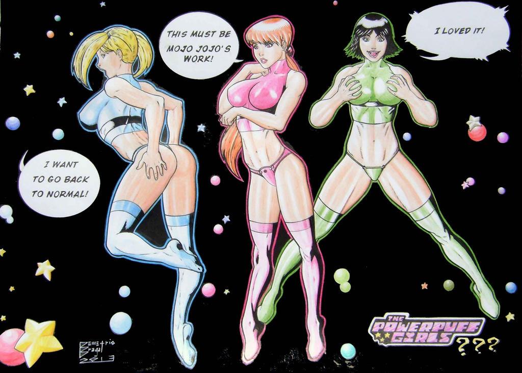 power puff girls adult