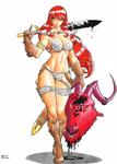 Demon slayer Sonja