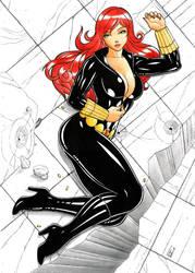 Black Widow by DemetrioBraga