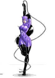 Catwoman by DemetrioBraga