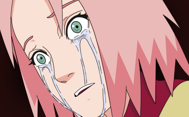 Sakura cry by sakurachan6 on DeviantArt
