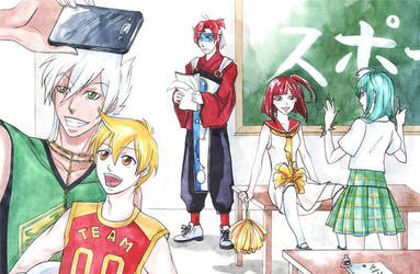 MAGI: sport and cheerleading by RinaIzumo