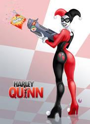 Harley Quinn by HvonD