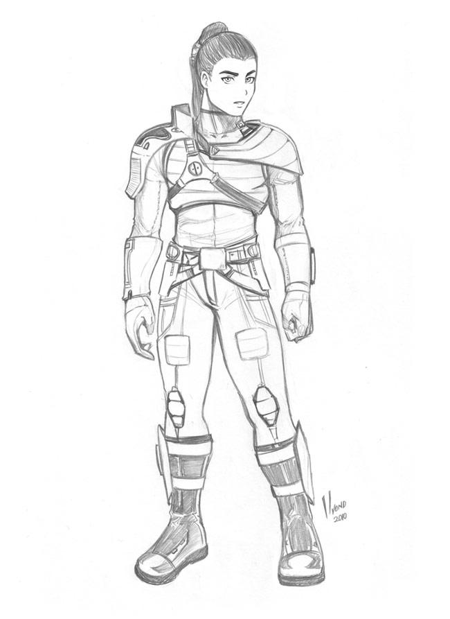 Gaius Mikaru by HvonD