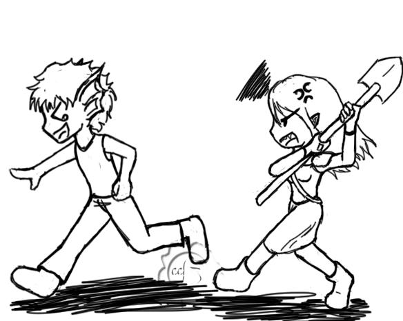 Chase revenge by Felina-Faerlaingal