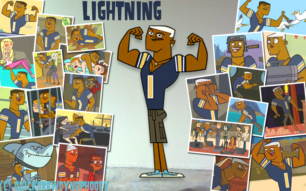 :+:Total Drama Pix Wallpaper-Lightning:+: by QuickDrawDynoPhooey