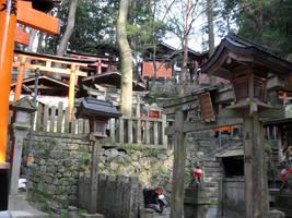 Kyoto Shrine by mackymole