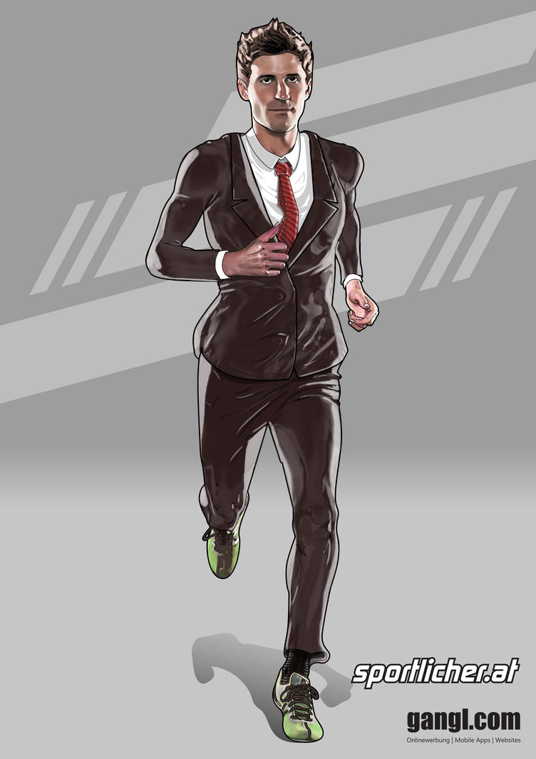 Running Guy by valadorf