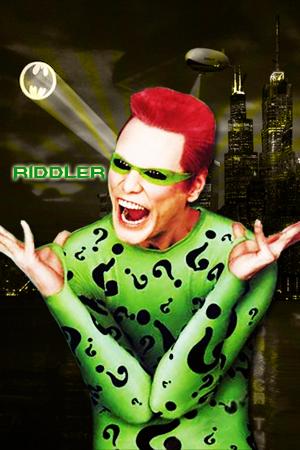Riddler Jim Carrey By Grim214