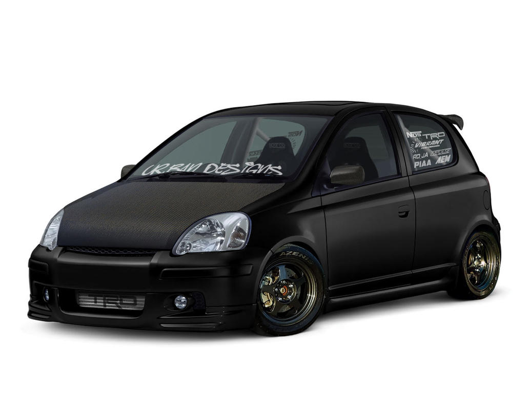 toyota yaris turbo by urban designs on deviantart. Black Bedroom Furniture Sets. Home Design Ideas