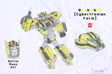 Bumblebee(Cybertronian Form) by RedFire11
