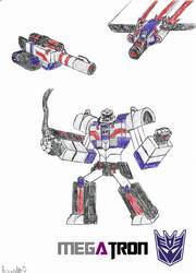 Megatron (Cybertronian Form) by RedFire11