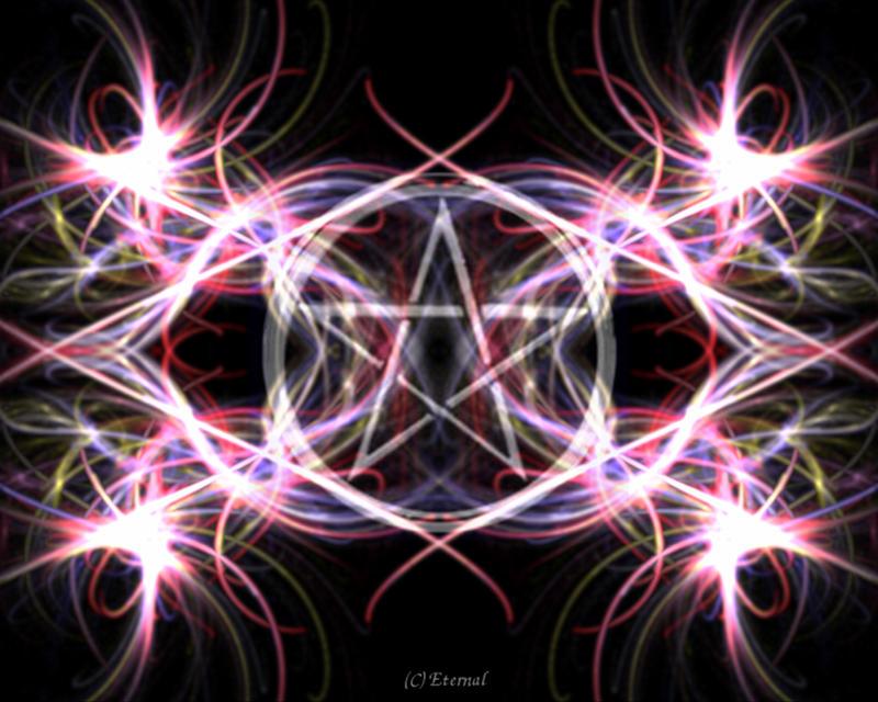 wiccan pentagram wallpaper - photo #13