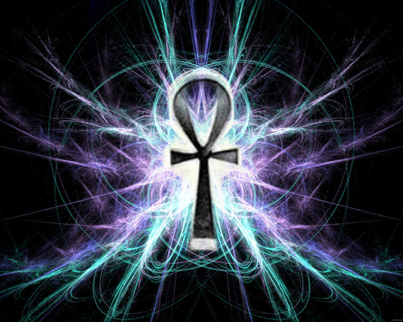 Abstract Ankh by Etern...