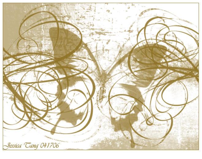 butterfly swirls by icajec
