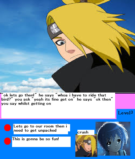 akatsuki dating game quiz girls