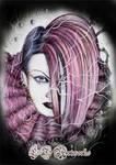 Kozi Malice Mizer Portrait by LT-Artworks