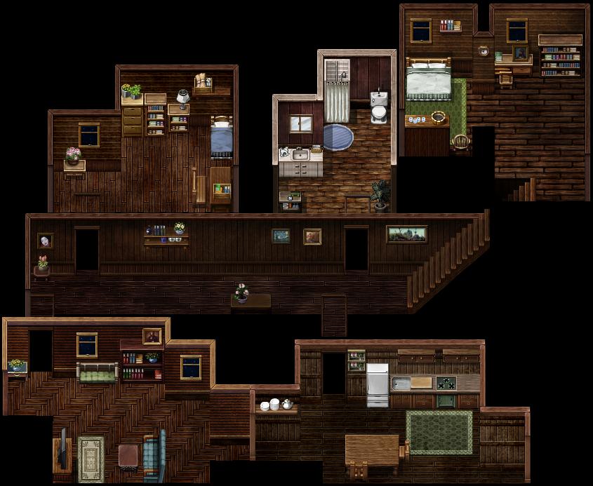 Cabin map by kingscourtgames on deviantart for 8 bit room decor