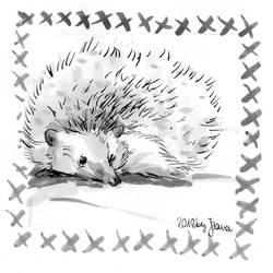 Hedgehog - Inktober2018 Day 25: Prickly
