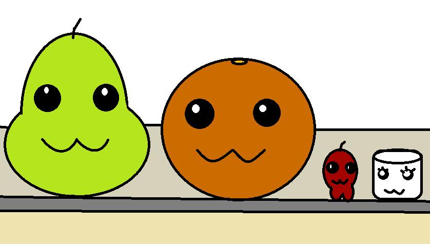 easy how to draw annoying orange