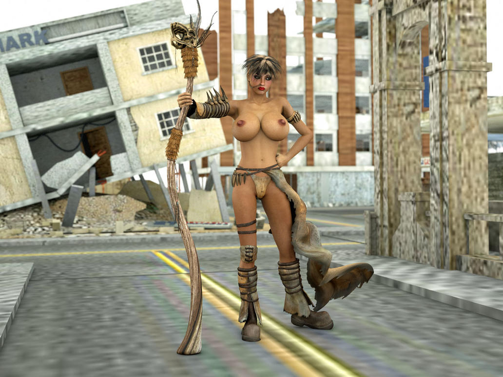 Wench of the Wastelands by UncleSickey