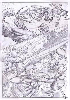 X-MEN STORM teams-up SPIDER-WOMAN vs. RHINO page 2