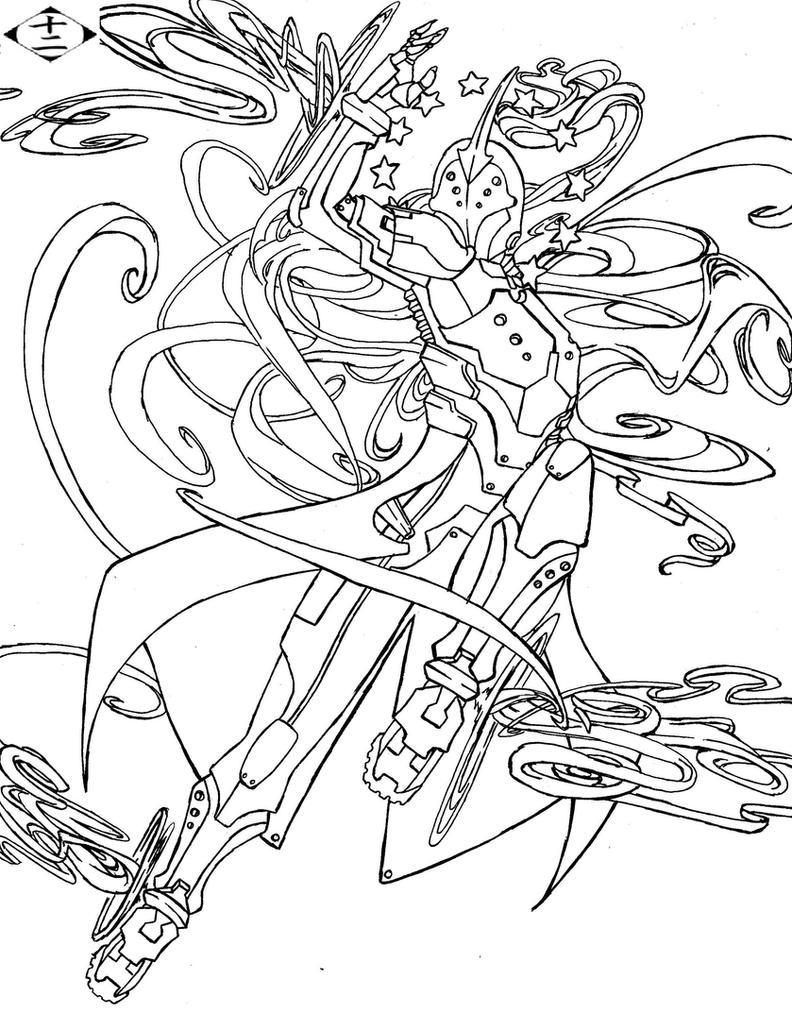 Division 12 Captain- Kokkan Kuchiki by AngelicHeresy