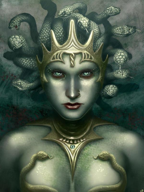 Poseidon and Medusa Greek Mythology