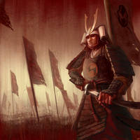 Samurai by camilkuo