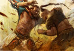 Mongol-gladiator