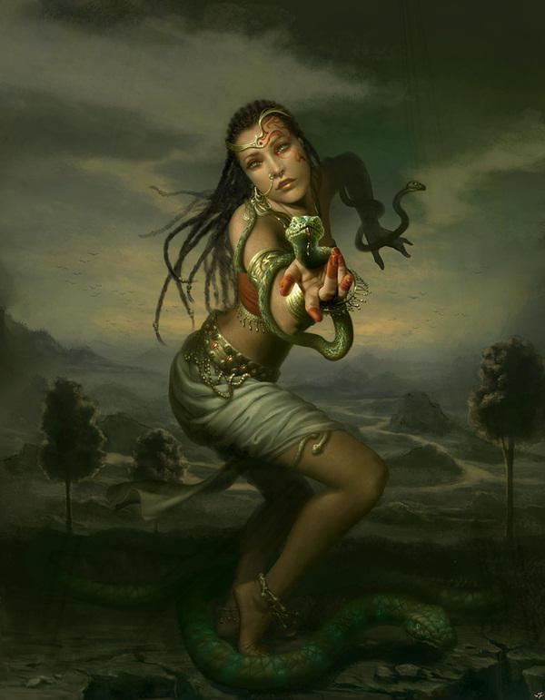 Naga Dance by camilkuo