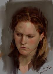 recent work portrait study by camilkuo