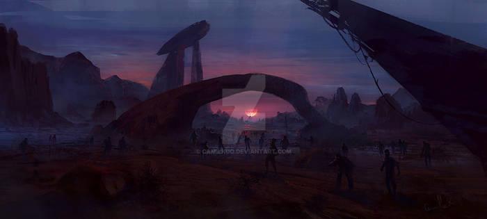 dawn of the dead camilleKuo